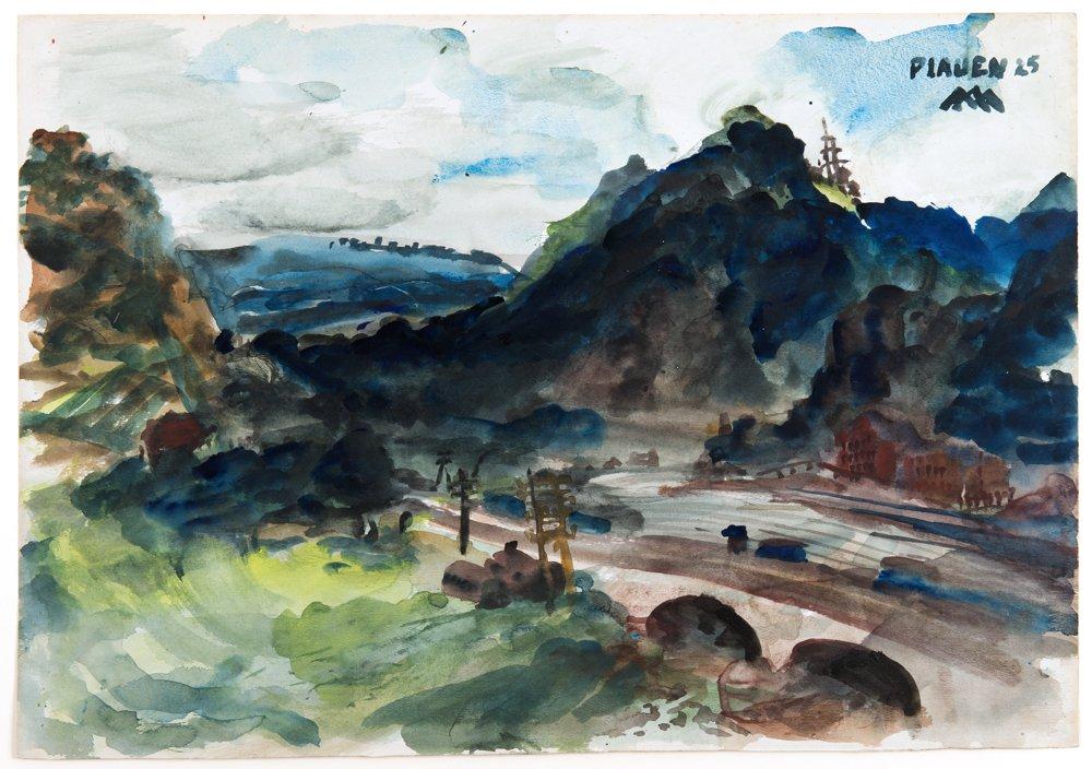 """""""Plauen"""", 1925"""