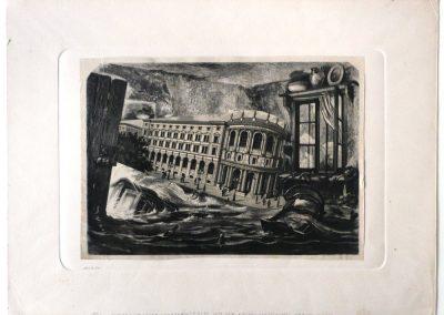 """""""Surrealistischer Schreck-Traum…"""", 1951"""